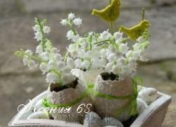 Ксения 68 - Яичное кракле на пасхальных яйцах