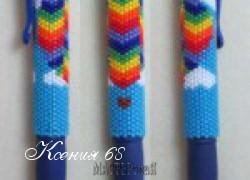 Ксения 68 - Ручка оплетенная бисером