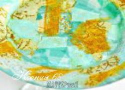 Ксения 68 - Коллаж на стекле