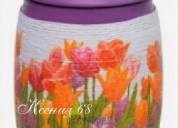 Ксения 68 - Декупаж на нитках. Видео МК