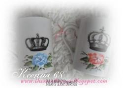 Ксения 68 - Королевские кружки. МК