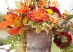 Ксения 68 - Украшаем сад природными материалами