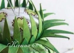 Ксения 68 - Игольница из бобинки от полотенец. МК