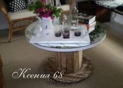 Ксения 68 - Мебель из деревянной катушки для кабеля