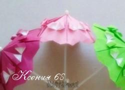 Ксения 68 - Зонтики оригами