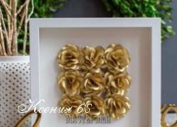 Ксения 68 - Панно с розами из бумаги