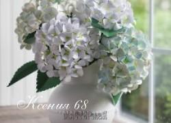Ксения 68 - Гортензия. Шаблон. МК