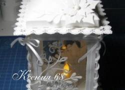 Ксения 68 - Фонарь из картона