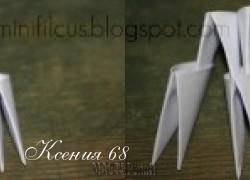 Ксения 68 - Как сделать модули оригами. Мастер класс
