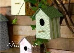 Ксения 68 - Скворечники из картона. Шаблон и МК