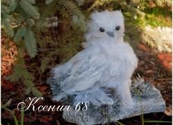 Ксения 68 - Сова из газет и перьев.МК