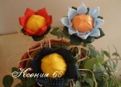 Ксения 68 - Пионы из атласных лент