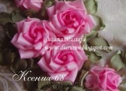 Ксения 68 - Розы. МК от Suzana Mustafa