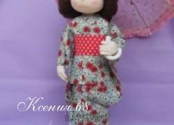Ксения 68 - Кукла в кимоно