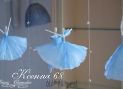 Ксения 68 - Балеринки из салфеток. МК