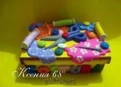 Ксения 68 - Шкатулка для рукодельницы. Фото МК