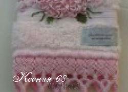 Ксения 68 - Полотенце с кружевом макраме
