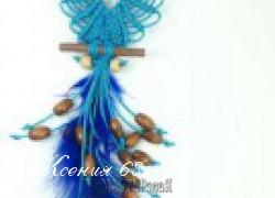 Ксения 68 - Подвеска Совушка. Макраме