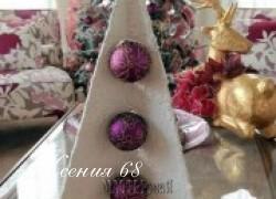 Ксения 68 - Новогодняя 3D ёлка из картона. МК