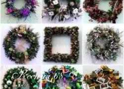 Ксения 68 - Рождественские венки. Идеи