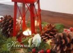 Ксения 68 - Шишки в новогоднем интерьере. Идеи