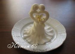Ксения 68 - Свадебный колокольчик из мастики