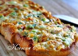 Ксения 68 - Хрустящий ароматный сырный хлеб