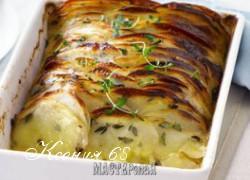 Ксения 68 - Картошка, запеченная в духовке пластинами