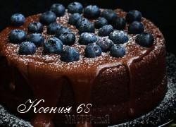 Ксения 68 - Шоколадный торт