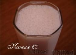Ксения 68 - Фруктово-молочный коктейль
