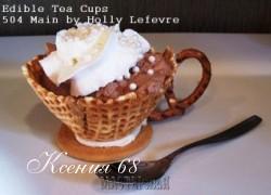Ксения 68 - Съедобные чашечки для десерта