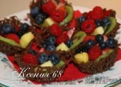 Ксения 68 - Шоколадные корзинки