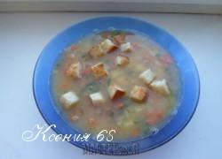 Ксения 68 - Гороховый суп с копчеными ребрышками