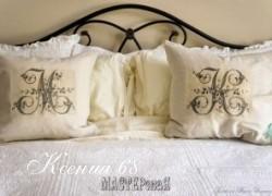 Ксения 68 - Монограммы на подушках. Шаблоны