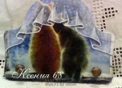 Ксения 68 - Имитация складок скатерти. МК от Татьяны Блохиной