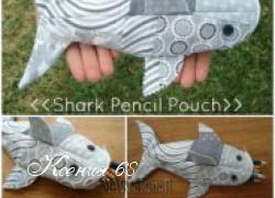 Ксения 68 - Шьем пенал своими руками в виде акулы