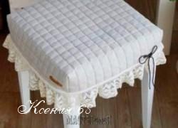 Ксения 68 - Подушка на табурет