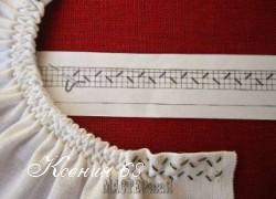 Ксения 68 - Как красиво присборить горловину у платья