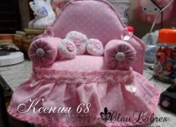 Ксения 68 - Диван для куклы. Мастер класс