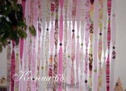 Ксения 68 - Шьем необычную штору из обрезков ткани