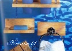 Ксения 68 - Деревянные полочки для бани своими руками. Фото мастер класс
