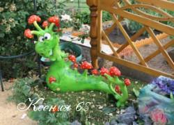 Ксения 68 - Садовая фигура дракон из бетона своими руками