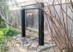 Ксения 68 - Как сделать фонтан-дождь в саду своими руками
