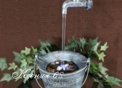 Ксения 68 - Садовый фонтан Висящий в воздухе кран