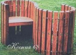 Ксения 68 - Садовая скамейка