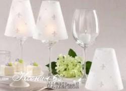Ксения 68 - Романтичные подсвечники из бокалов