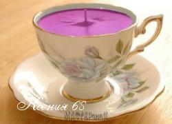 Ксения 68 - Свеча из чашки