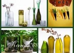 Ксения 68 - Бутылки в интерьере
