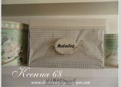 Ксения 68 - Красота из металлической сетки. МК