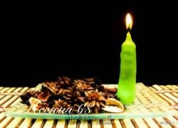 Ксения 68 - Маленькие свечи для тортов своими руками.МК